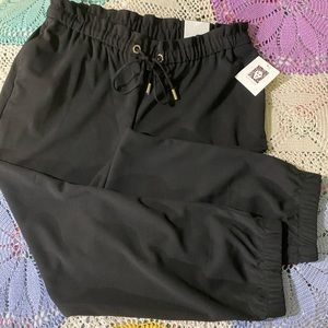 Black Slim Crop Fashion Pants - NWT